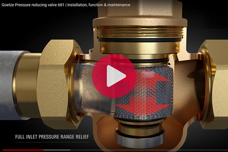 Pressure Reducing Valves - Simply Explained